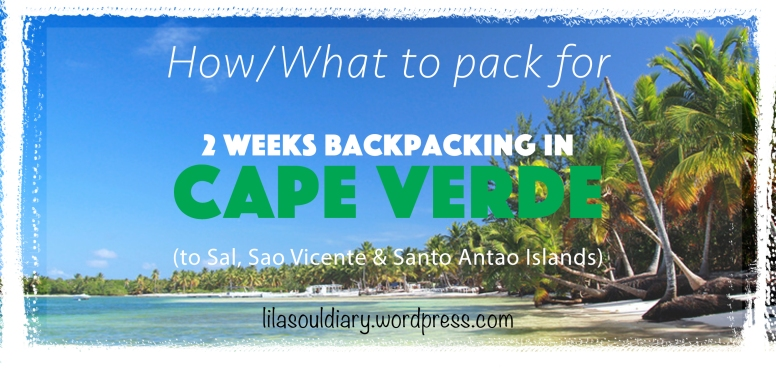 How to pack for Cape Verde01